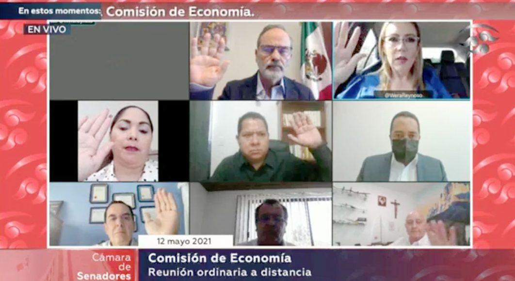 Intervención del senador Gustavo Madero Muñoz, presidente de la Comisión de Economía, para referirse al proceso de renovación de la Presidencia del Órgano de Gobierno de la COFECE, y a la reunión con el Consejo Nacional de Evaluación de la Política de Desarrollo Social (CONEVAL), en la reunión de trabajo de la Comisión de Economía.