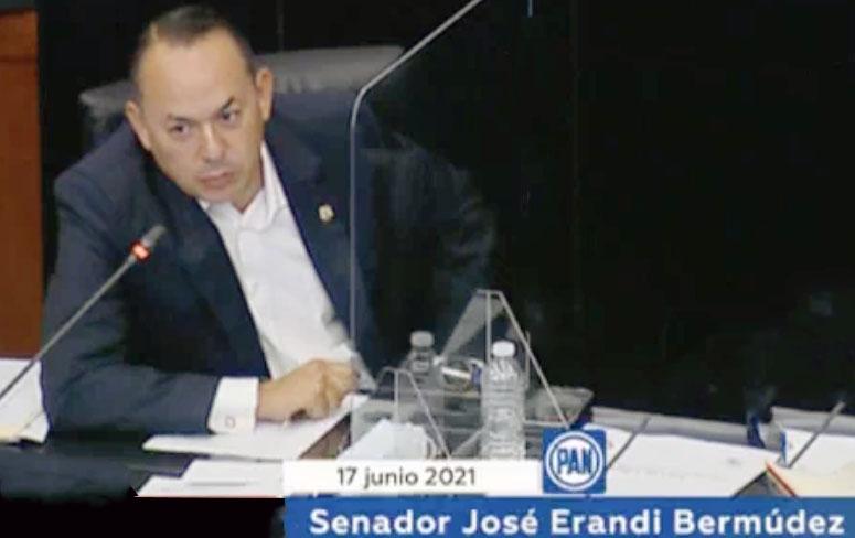 Intervención del senador Erandi Bermúdez Méndez, en la reunión extraordinaria de la Comisión de Agricultura, Ganadería, Pesca y Desarrollo Rural.