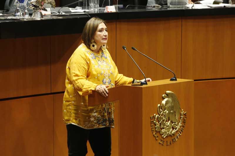 Intervención de la senadora Xóchitl Gálvez Ruiz, al participar en la discusión de un dictamen de la Primera Comisión relativo a la idoneidad para efectos de ratificación o negativa del nombramiento de una magistrada de la Sala Superior del Tribunal Federal de Justicia Administrativa.