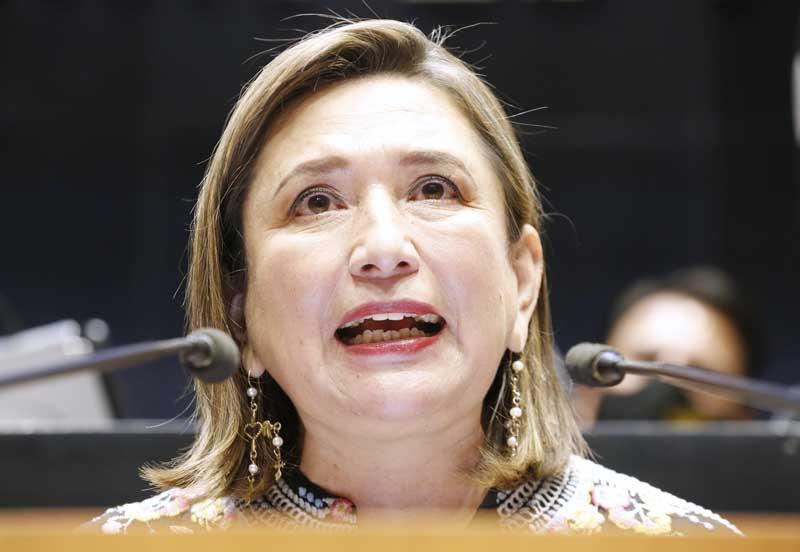 Senadora Xóchitl Gálvez Ruiz, a favor de aumentar la proporción de mujeres en cargos de liderazgo en la gestión ambiental