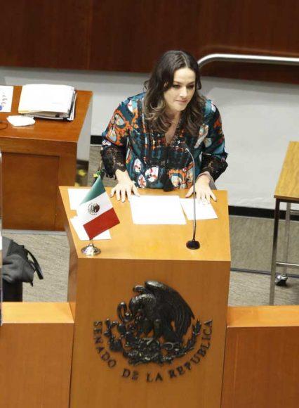 Intervención en tribuna de la senadora Martha Cecilia Márquez Alvarado, para hablar a favor del proyecto de decreto por el que se reforman y adicionan diversas disposiciones de la Ley General de Salud en materia de protección animal.